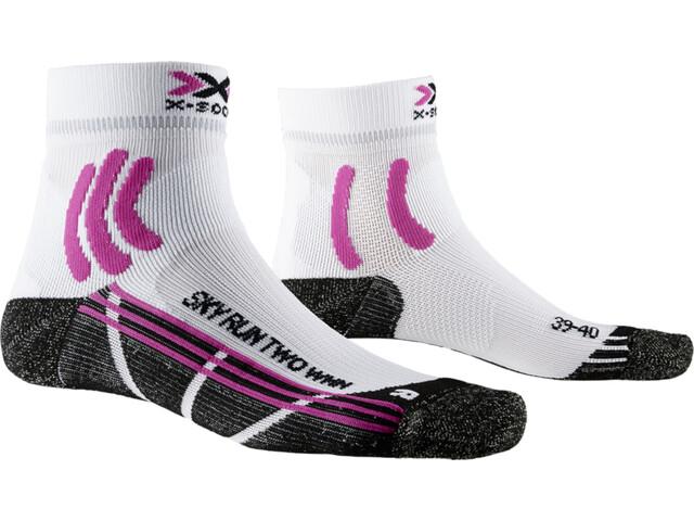 X-Socks Sky Run Two Strømper Damer, arctic white/opal black
